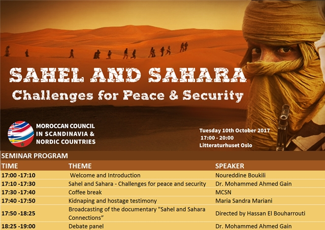 Sahel and Sahara challenges for peace